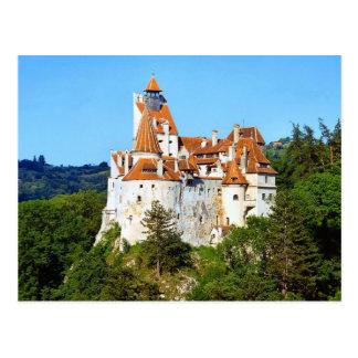 Cartão Postal O castelo de Dracula, farelo, a Transilvânia
