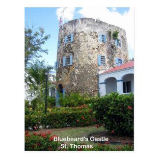 Cartão Postal O castelo do Bluebeard, St Thomas