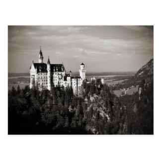 Cartão Postal O castelo ideal do rei Ludwig