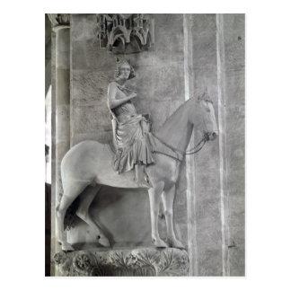 Cartão Postal O cavaleiro de Bamberga, 1230-35