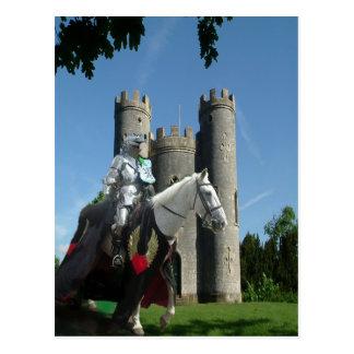 Cartão Postal O cavaleiro do castelo de Blaise
