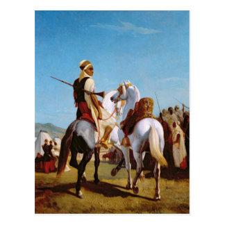 Cartão Postal O cavalo de Gaada, ou o cavalo da submissão