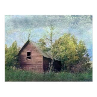 Cartão Postal O celeiro velho