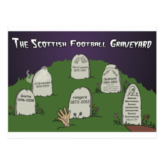 Cartão Postal O cemitério escocês do futebol