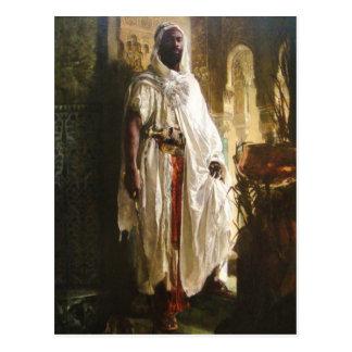 Cartão Postal O chefe do Moorish