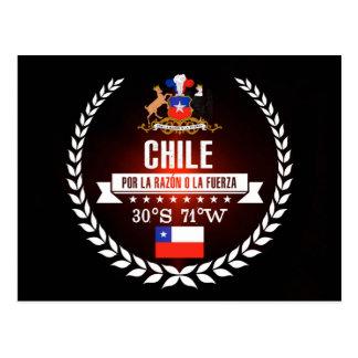 Cartão Postal O Chile