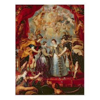 Cartão Postal O ciclo de Medici