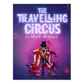 Cartão Postal O circo de viagem