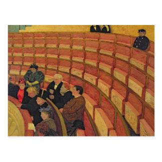 Cartão Postal O círculo superior no teatro du Chatelet
