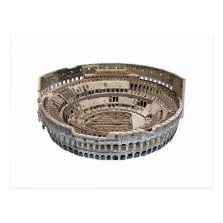 Cartão Postal O Colosseum de Roma: modelo 3D: