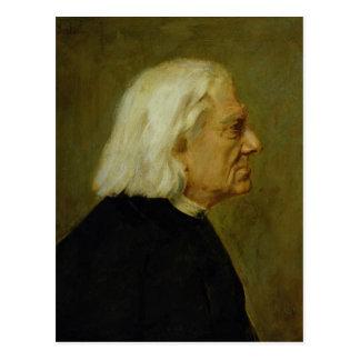 Cartão Postal O compositor Franz Liszt, 1884