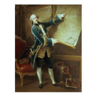 Cartão Postal O Comte de Vaudreuil, 1758