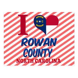 Cartão Postal O Condado de Rowan, North Carolina