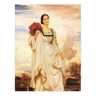Cartão Postal O condessa Brownlow, Frederic Leighton