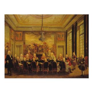 Cartão Postal O Conselho da regência para a minoria