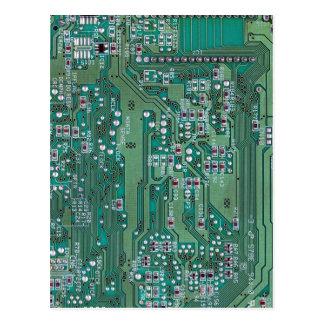 Cartão Postal O conselho de circuito impresso