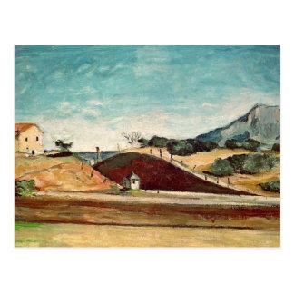 Cartão Postal O corte Railway, c.1870