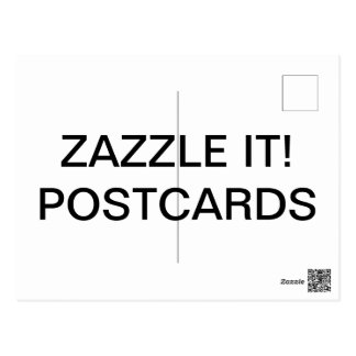 Cartão Postal O costume personalizou o modelo Matte do vazio do