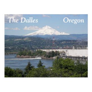 Cartão Postal O Dalles, viagem de Oregon