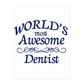 Cartão Postal O dentista o mais impressionante do mundo