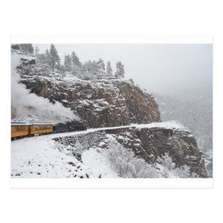 Cartão Postal O desfiladeiro da cascata a bordo do polar