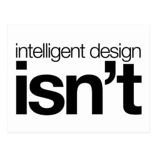 Cartão Postal O design inteligente… não é!
