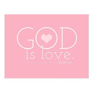 Cartão Postal O deus do GC é namorados do amor