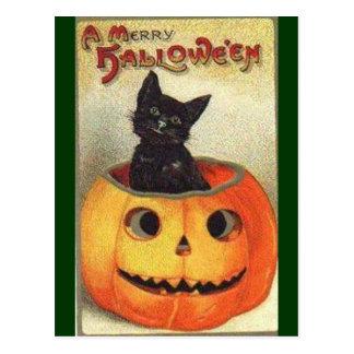 Cartão Postal O Dia das Bruxas alegre
