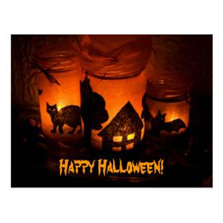 Cartão Postal O Dia das Bruxas feliz!