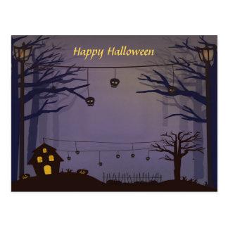 Cartão Postal O Dia das Bruxas feliz