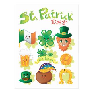 Cartão Postal O dia de St Patrick