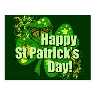 Cartão Postal O dia de St Patrick feliz