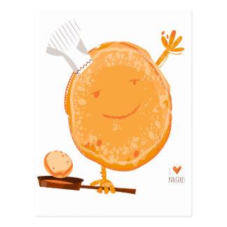 Cartão Postal ò Dia do Crepe - dia da apreciação