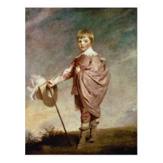 Cartão Postal O duque de Gloucester como um menino