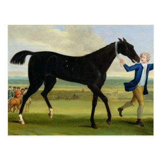 """Cartão Postal O duque do preto """"bonito"""" de Rutland, c.1720 (óleo"""