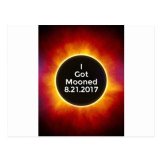 Cartão Postal O eclipse solar americano obtem o 21 de agosto de
