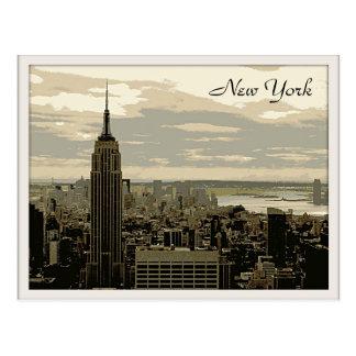 Cartão Postal O Empire State Building