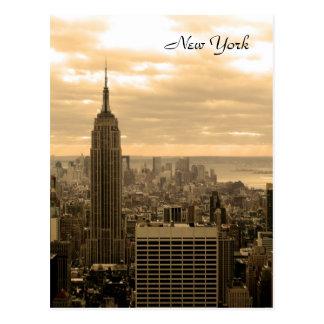 Cartão Postal O Empire State Building (Sepia)