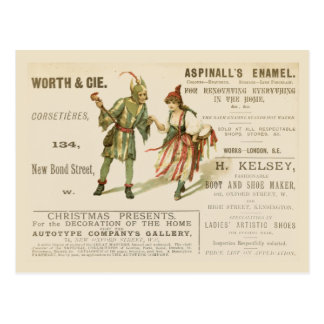 Cartão Postal O esmalte de Aspinall