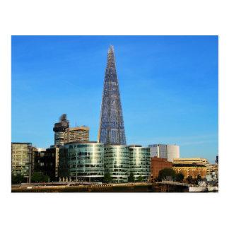 Cartão Postal O estilhaço do vidro em Londres