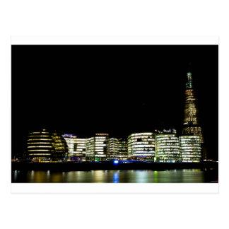 Cartão Postal O estilhaço e a cidade de construções de Londres