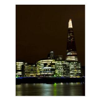 Cartão Postal O estilhaço e o Southbank Londres