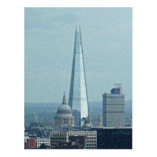 Cartão Postal O estilhaço, Londres