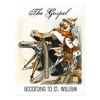 Cartão Postal O evangelho de acordo com St. William