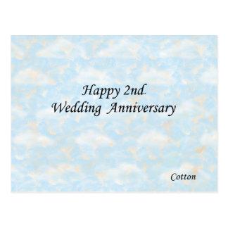 Cartão Postal Ò feliz. Aniversário de casamento