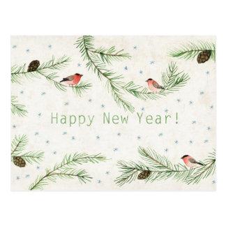 Cartão Postal O feliz ano novo!