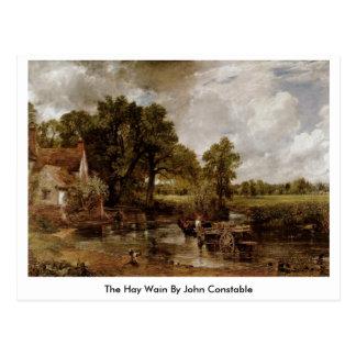 Cartão Postal O feno Wain por John Constable