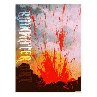 Cartão Postal O fogo de Pele