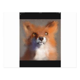 Cartão Postal O Fox