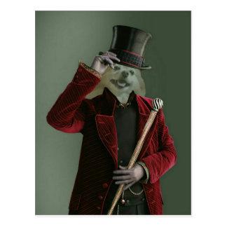 Cartão Postal O Fox é o homem invisível
